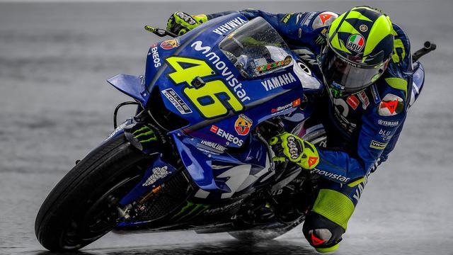 Motogp 2018 Valentino Rossi Sulit Menekan Marc Marquez Motogp