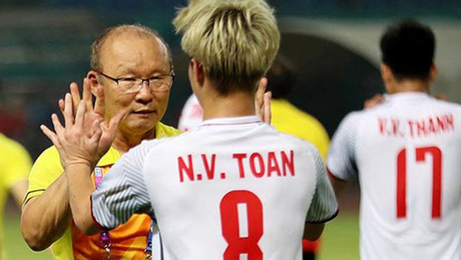 Pelatih Timnas Vietnam U-23, Park Hang-seo. (Bola.com/Dok. VFF)