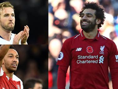 Top Scorer Premier League, Mohamed Salah Jauhi Kejaran Gol Harry Kane