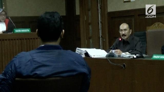 Sidang dugaan perintangan penyidikan kasus korupsi E-KTP kembali digelar. Kali ini sidang menghadirkan dua orang saksi.