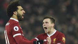 2. Mohamed Salah (Liverpool) - 18 Gol. (AFP/Oli Scarff)