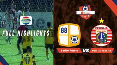Berita video highlights Shopee Liga 1 2019 antara Barito Putera melawan Persija Jakarta yang berakhir dengan skor 1-1 di Stadion 17 Mei, Senin (20/5/2019).