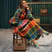 Luna Maya presentasikan koleksi terbaru Gucci karya desainer kelas dunia, Alessandro Michelle, di Gucci Ginza, Tokyo (Dok.Instagram/@lunamaya/https://www.instagram.com/p/B5tkkZynyBb/Komarudin)