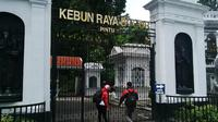 Dalam peristiwa penutupan Kebun raya Bogor kemarin, 14 tanaman koleksi dan 4 tanaman non-koleksi tumbang.