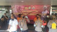 Polres Metro Tangerang Kota mengamankan dua kelompok yang melakukan tawuran di Kecamatan Karawaci, Kota Tangerang. (Foto:Liputan6/Pramita Tristiawati)