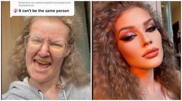 Video Penampilan Wanita Sebelum vs Sesudah Makeup Ini Viral, Beda Banget