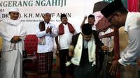 Calon Wakil Presiden dari nomor urut 01, Ma'ruf Amin menyebutkan, peran ulama pada Pemerintahan Joko Widodo mendapatkan perhatian yang sangat baik.