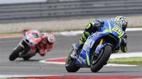 Manajer Teknik Suzuki Ecstar, Ken Kawauchi, menilai hasil yang diraih Andrea Iannone di MotoGP Belanda berguna untuk bahan evaluasi pengembangan motor. (Suzuki Racing)