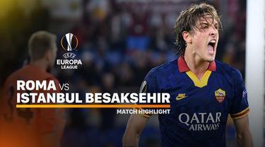 Berita video highlights Liga Europa 2019-2020 antara AS Roma melawan Istanbul Basaksehir yang berakhir dengan skor 4-0, Kamis (19/9/2019).