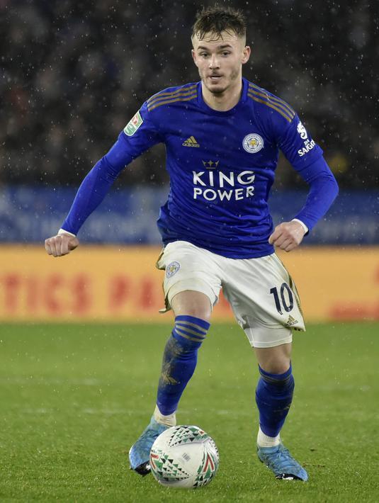 FOTO: Leicester City Imbang Kontra Aston Villa di ...