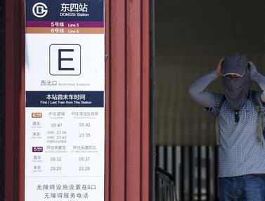 Uniknya Warga China Hadapi Musim Panas