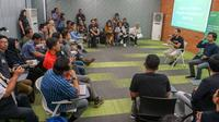 CEO Gojek Nadiem Makarim di Program Akselerator UI Works. Dok: Universitas Indonesia