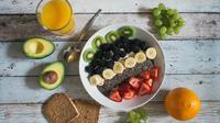 Ilustrasi makanan vegan (dok.unsplash)