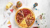 Pezzo Pizza, resto pizza dari Singapura hadir di Indonesia dan memudahkan kita merasakan semua topping karena bisa dibeli per-slice (Foto: Dok. Pezzo Pizza)