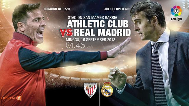 2bed47574e72b Live Streaming SCTV Athletic Bilbao Vs Real Madrid di La Liga - Bola ...