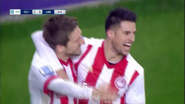 Berita video mantan pemain Chelsea, Marko Marin bantu Olympiakos kalahkan Lamia 2-0. This video is presented by Ballball.