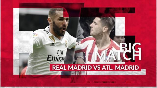 Berita Video Prediksi Derbi Madrid, Real Madrid Diuntungkan Oleh Badai Cedera Atletico