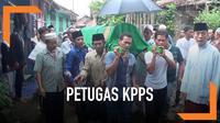 Seorang ketua KPPS di Kabupaten Bogor, Jawa Barat meninggal setelah memimpin sidang pleno di Kecamatan. Ia meninggal diduga karena kelelahan.