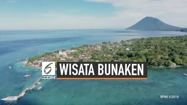 Presiden Joko Widodo bersama Ibu Negara Iriana dalam rangkaian kunjungan kerja ke Provinsi Sulawesi Utara pagi ini kembali meninjau destinasi wisata yang ada di provinsi tersebut.