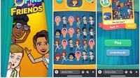 Format gameplay baru di Snapchat, Leaderboard Games (sumber: Snapchat)