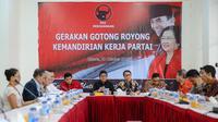Jelang Rakernas, PDIP gelar diskusi tentang Trisakti. (Liputan6.com/Faizal Fanani)