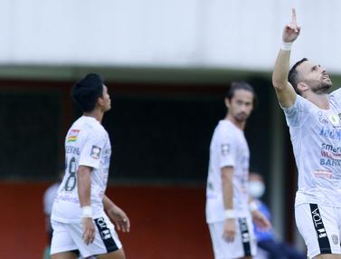 FOTO: Tahan Imbang Persita, Bali United Lolos ke Perempat Final Piala Menpora 2021