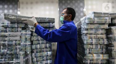 FOTO: Uang Beredar pada November 2020 Capai Rp 6.817,5 Triliun