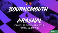 Premier League - Bournemouth Vs Arsenal (Bola.com/Adreanus Titus)