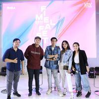 BBM Talk Show di Fimela Fest 2018. (Adrian Putra/Fimela.com)
