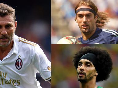 Pada dasarnya pesepak bola sukses adalah pemain yang begitu mencintai dunia sepak bola. Namun anehnya ada beberapa pesepak bola yang tidak menyukai olahraga sepak bola itu sendiri. (Kolase foto AFP)