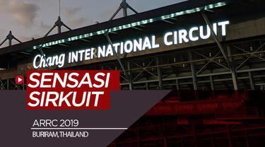 Berita video merasakan sensasi di pinggir sirkuit Chang International, Buriram, Thailand, saat Asia Road Racing Championship (ARRC) 2019.