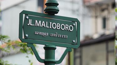 Ilustrasi Jalan Malioboro, Yogyakarta