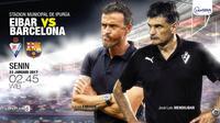 Eibar vs Barcelona (Liputan6.com/Abdillah)