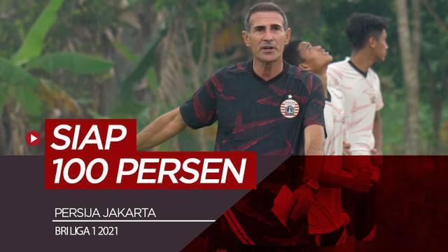 Berita video wawancara singkat pelatih utama Persija, Angelo Alessio mengenai kesiapan jelang lawan PSS di BRI Liga 1