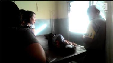 Polisi anggota Polres Minahasa Selatan terluka parah setelah ditabrak pengendara yang mencoba kabur dari razia.