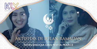 Fatin Shidqia dan Pevita Pearce Tetap Sibuk  di Bulan Ramadan.