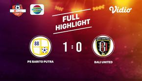 Laga lanjutan Shopee Liga 1, PS Barito Putra VS Bali United berakhir  1-0 #shopeeliga1 #PS Barito Putra #Bali United