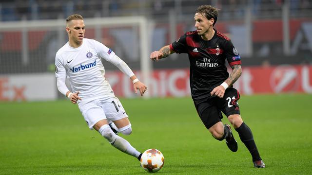 AC Milan Lumat Austria Vienna