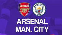 Premier League - Arsenal Vs Manchester City (Bola.com/Adreanus Titus)