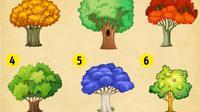 Pilihlah 1 dari 9 pohon berikut ini, kami akan ungkap pencapaian dan harapan Anda di tahun yang baru