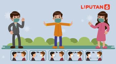 Banner Infografis Hindari Penularan Covid-19, Ayo Jaga Jarak! (Liputan6.com/Abdillah)