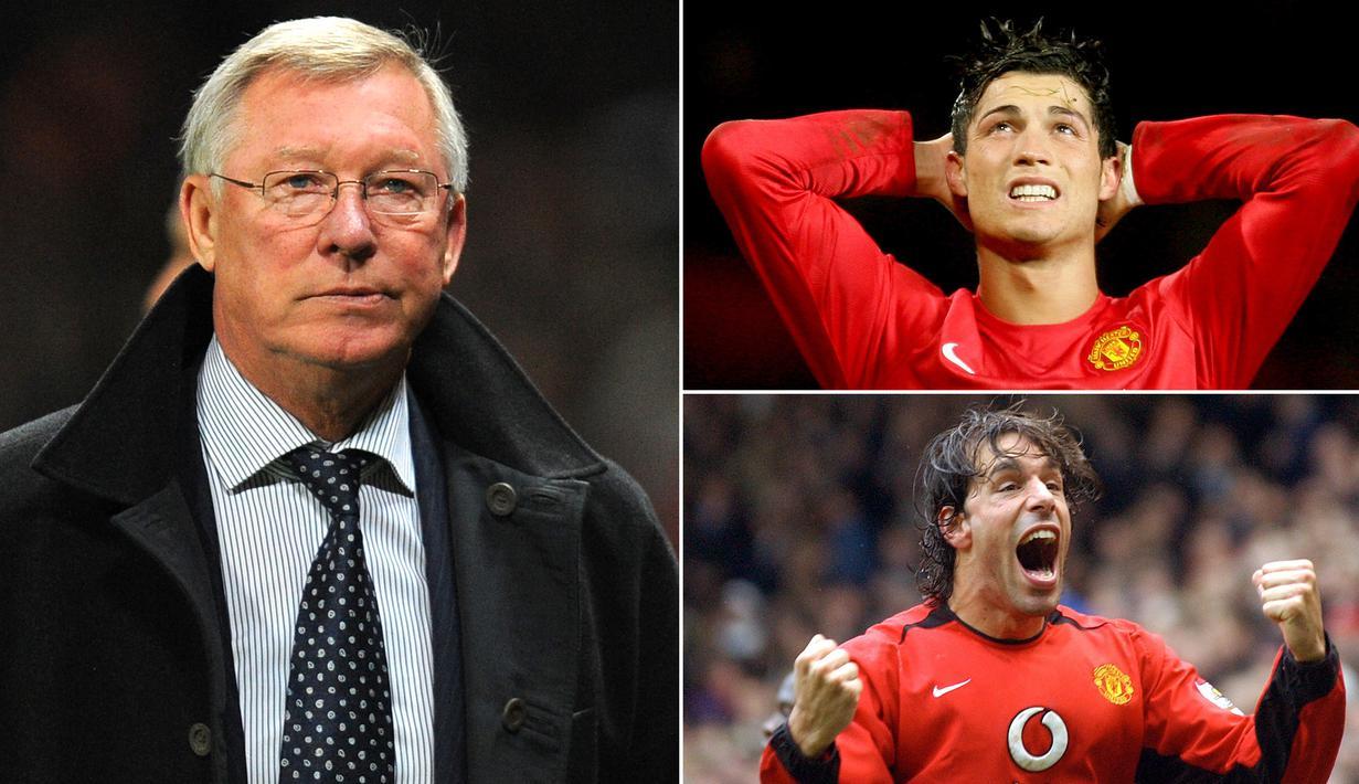 FOTO 7 Penyerang Manchester United Andalan Sir Alex