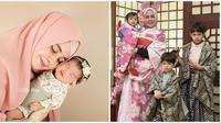 Momen Risty Tagor Saat Mengurus Tiga Anaknya, Mandiri Banget (sumber:Instagram/ristytagor)