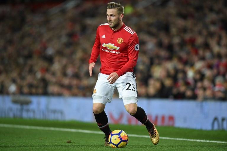 Bek Manchester United, Luke Shaw (AFP/Oli Scarff)
