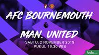 Premier League - AFC Bournemouth Vs Manchester United (Bola.com/Adreanus Titus)