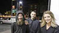Kate McClure dan tunawisma yang menolongnya, Johnny Bobbit Jr. (philly.com)