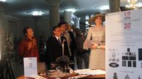 Raja Belanda Willem-Alexander dan Ratu Maxima berkunjung ke UGM Yogyakarta, Rabu (11/3/2020). (Liputan6.com/ Switzy Sabandar)