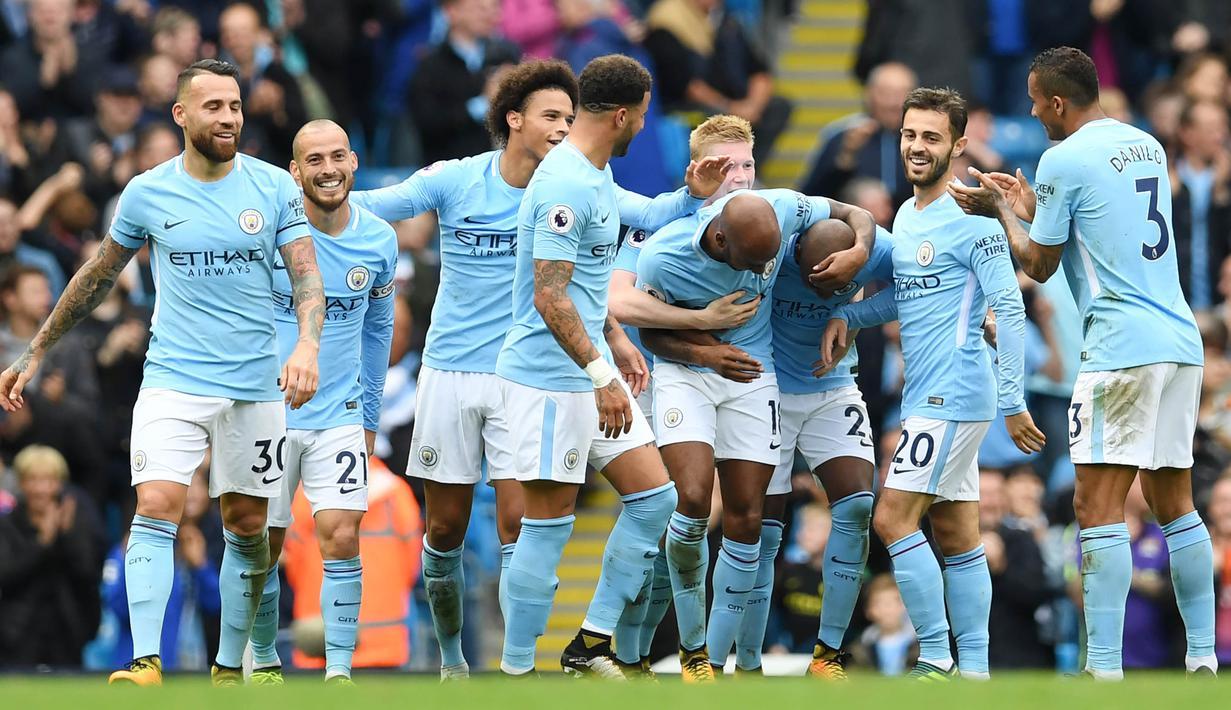 FOTO 7 Selebrasi Terbaik Premier League 2017 2018 Pekan Ke