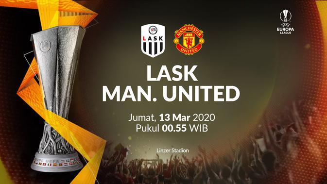 Link Live Streaming SCTV Liga Europa: LASK Vs Manchester United, Eksklusif di Vidio