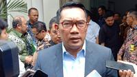 Gubernur Jawa Barat Ridwan Kamil telah menandatangani penetapan status tanggap darurat banjir dan longsor di lima wilayah di Jabar. (Liputan6.com/Huyogo Simbolon)